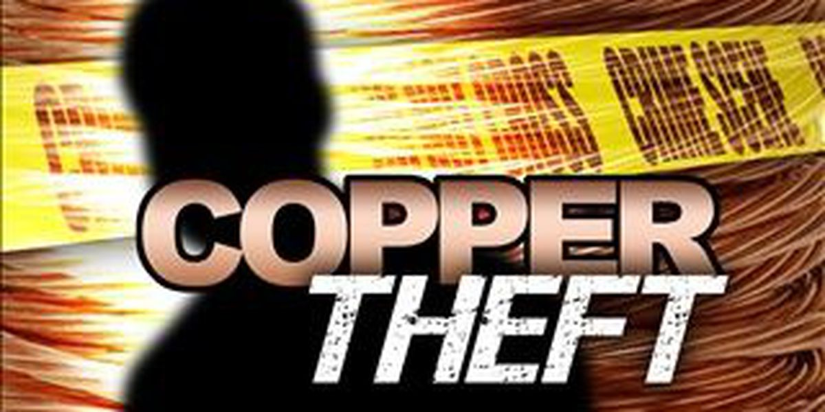 Akron police issue copper theft warning