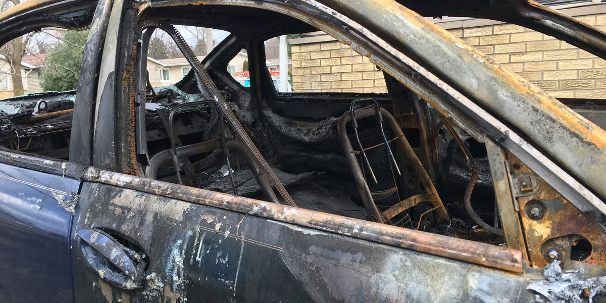 Akron investigators find four cars on fire in 10 days