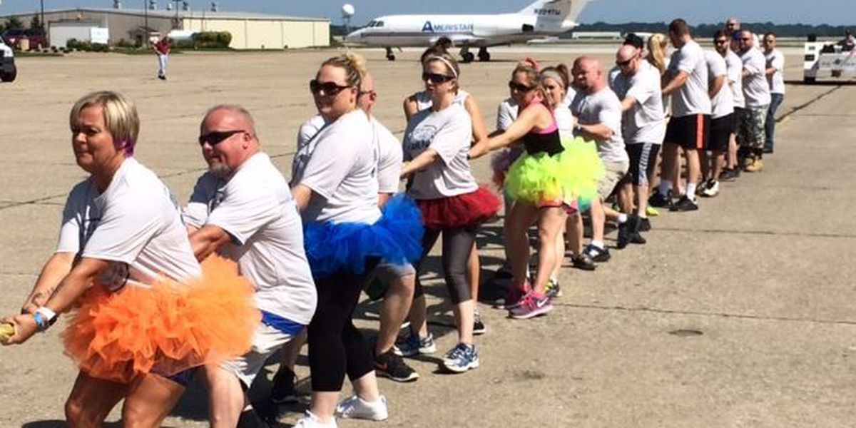 6th Annual Plane Pull to benefit the Special Olympics