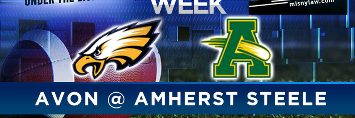 High School Football Game of the Week Avon vs. Amherst