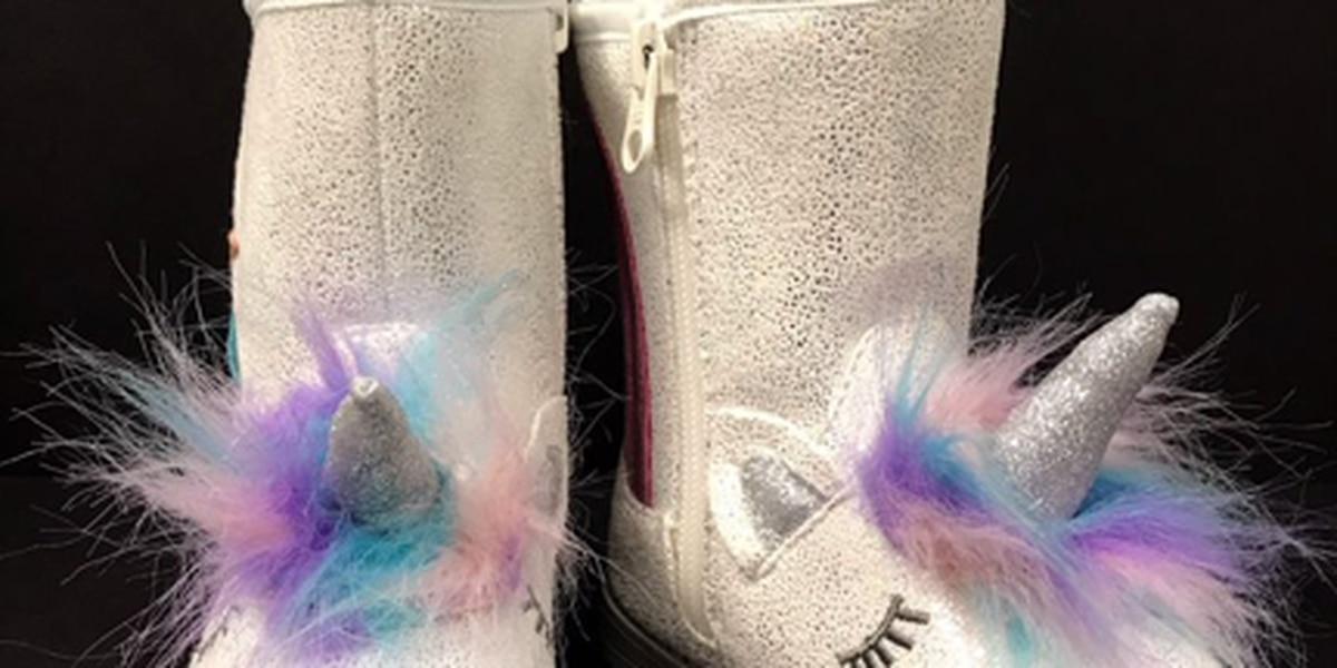 Target recalls toddler unicorn boots