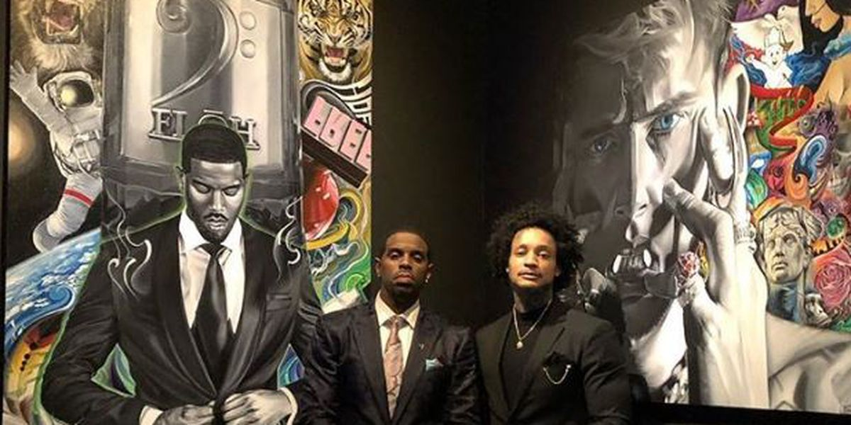Cleveland art exhibit attracts star-studded guests for a good cause (photos/video)