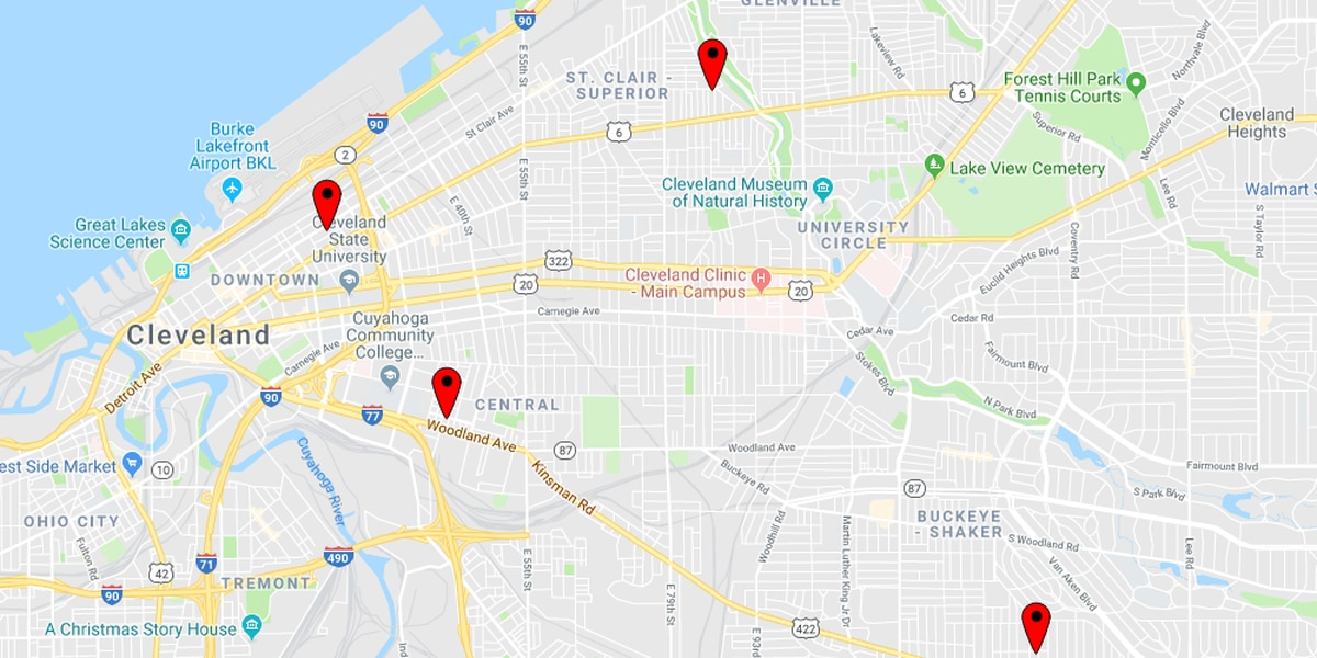 Cleveland police: 6 victims treated for gunshot wounds in under 9 hours