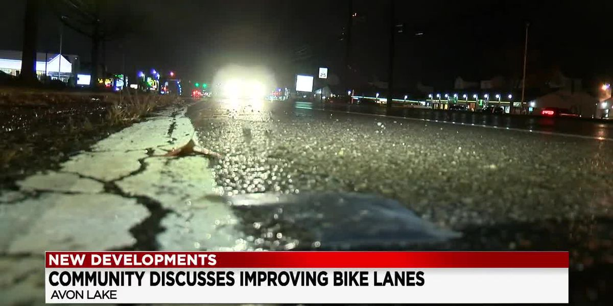 Avon Lake considers improving bike lanes to make cycling safer after devastating accidents