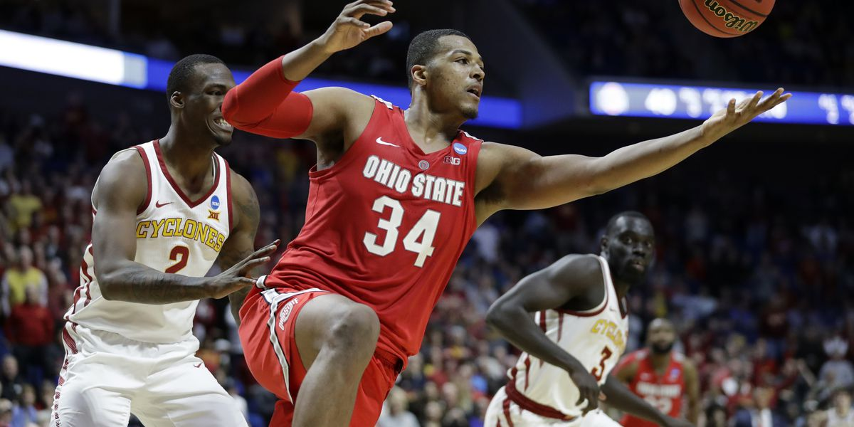 Ohio St. upsets Iowa State 62-59 behind as Wesson scores 21