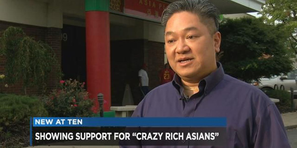 'Crazy Rich Asians' breaking new ground for Asian community