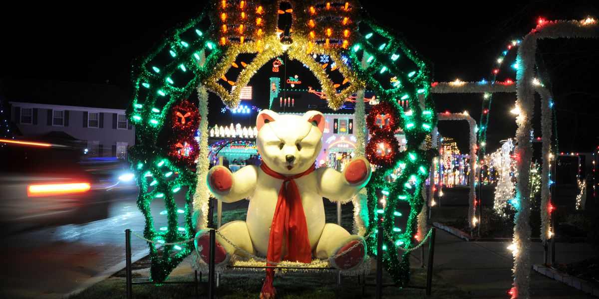 If You Only See One Christmas Light Display It Should Be At This