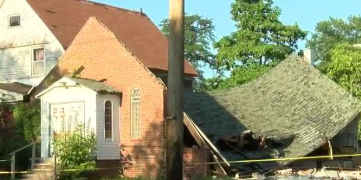 Cleveland residents call collapsed church dangerous eyesore
