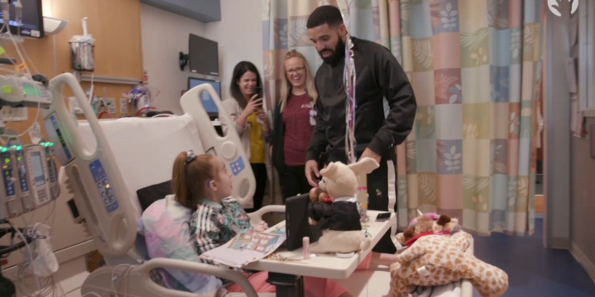 'Is this real or fake?': Young heart transplant patient receives birthday surprise from Drake