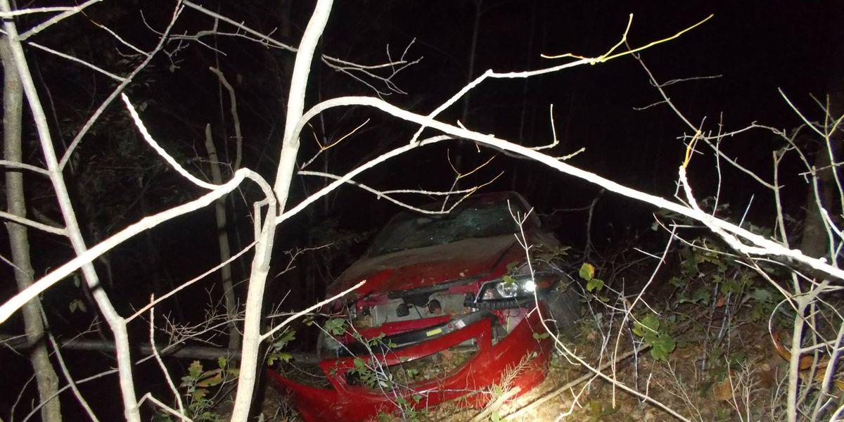 Vermilion Police: Woman drives car off 50-foot cliff, survives; drunken driving suspected