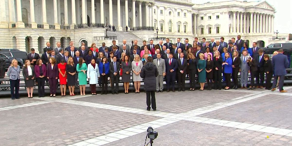 Freshman class of 116th Congress invades Washington