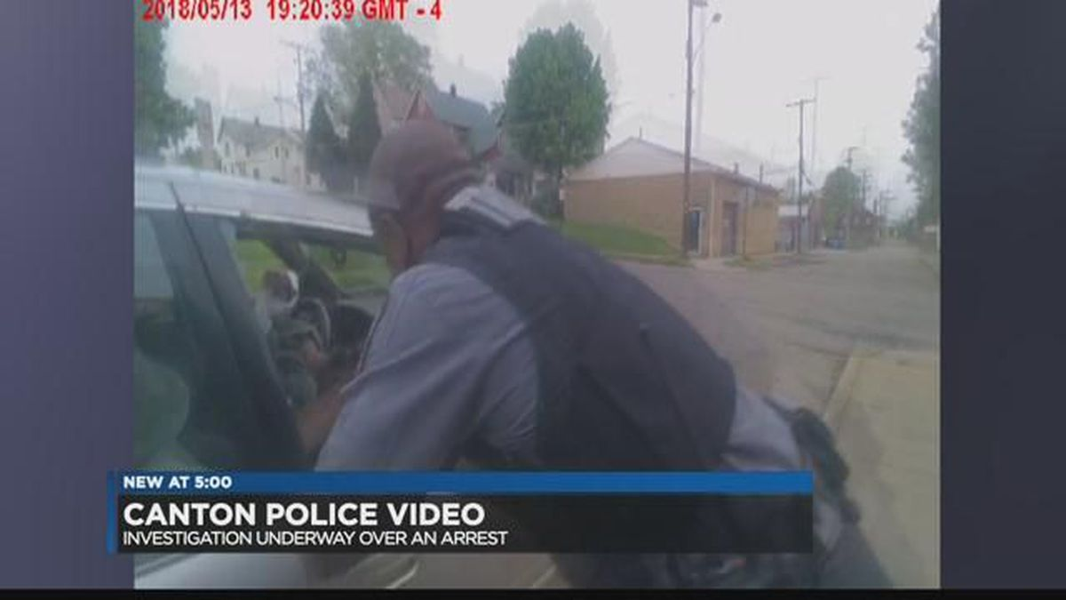 Man posts video of arrest by Canton police K-9 on Facebook