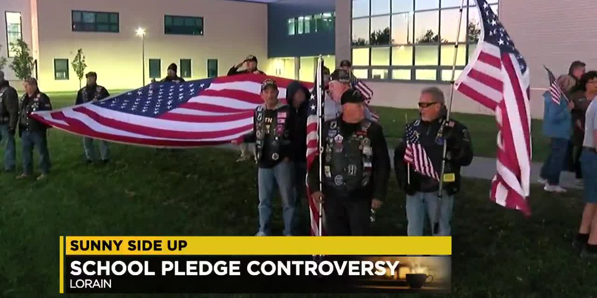 Sunny Side Up: Should students be required to say the Pledge of Allegiance daily?