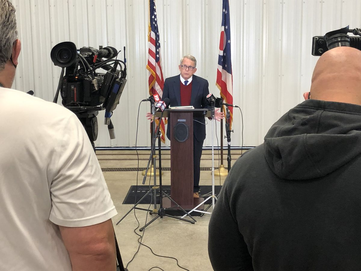 Gov. DeWine addresses surge in new cases in Cuyahoga County; an additional 1,837 infections reported across Ohio in last 24 hours