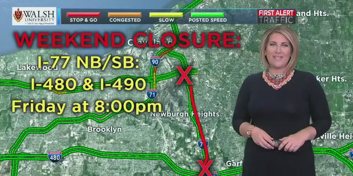 Traffic in the Land: Weekend closure on I-77