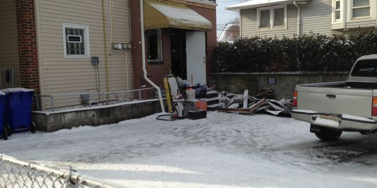 Cleveland house catches fire after resident attempts to heat up home with propane torch
