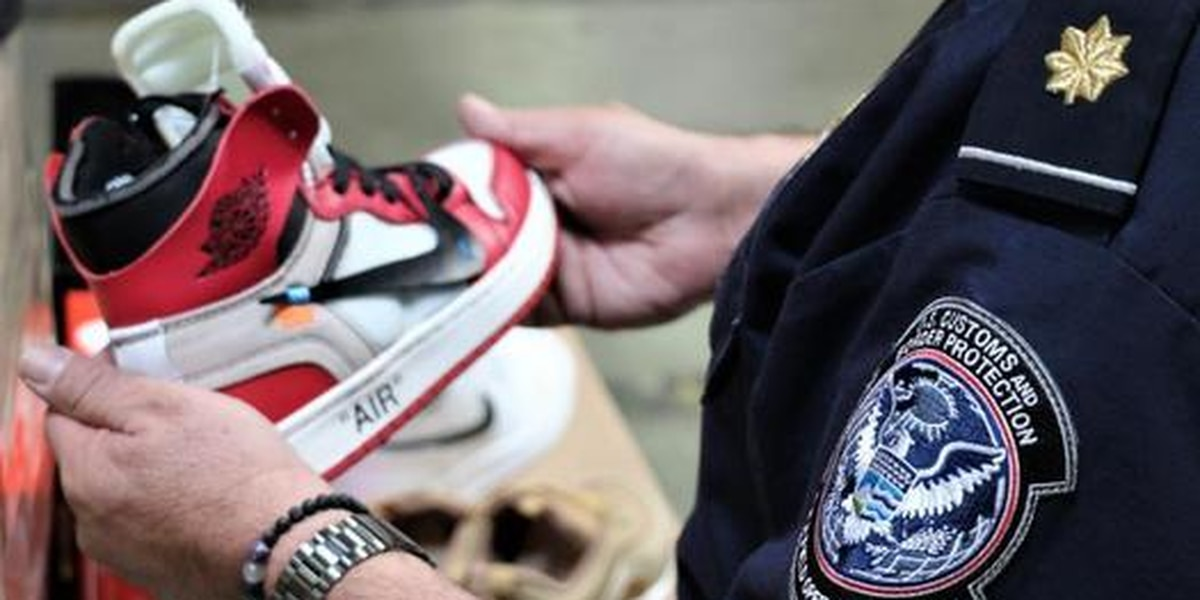 Authorities confiscate $2.2 million in fake Nikes