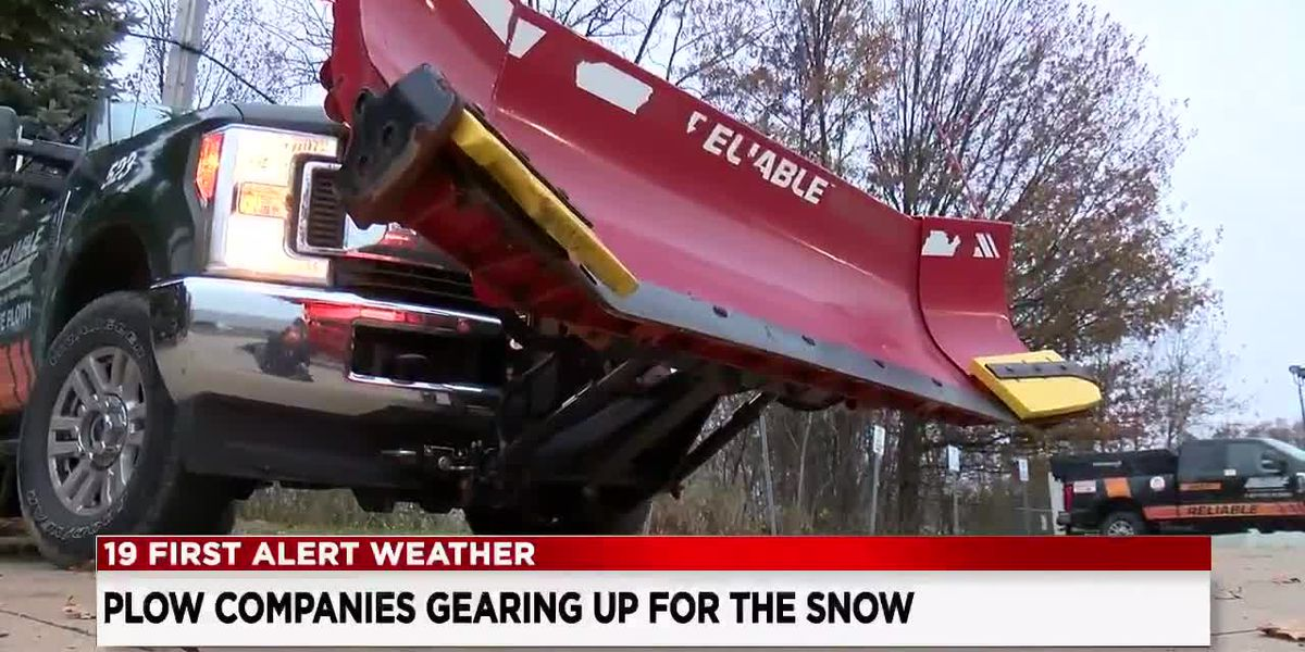 Northeast Ohio snow plowers prepare for kickoff to snow season with two-day winter storm coming Monday