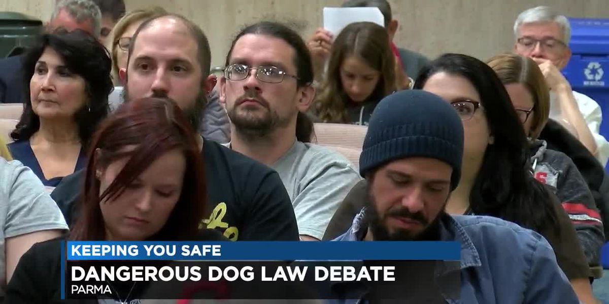 Dog advocates petition to end pit bull ban in Parma