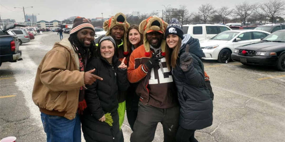 Browns invite fans to celebrate with an NFL draft tailgate