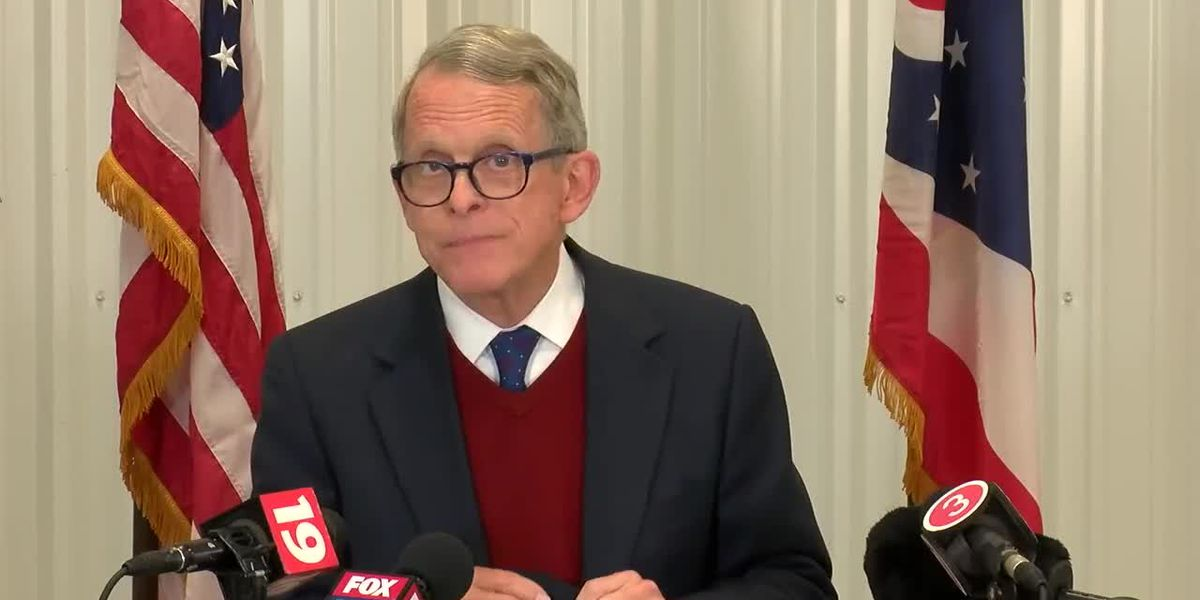Gov. DeWine addresses surge in new cases in Cuyahoga County