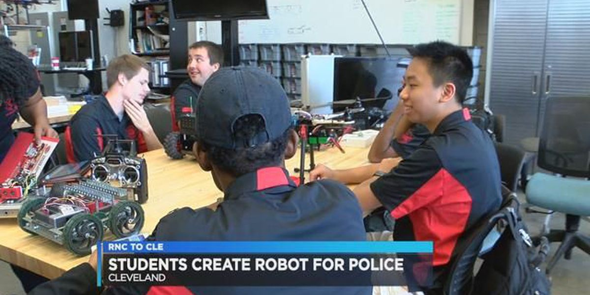 Students build robot to help Cleveland PD during RNC