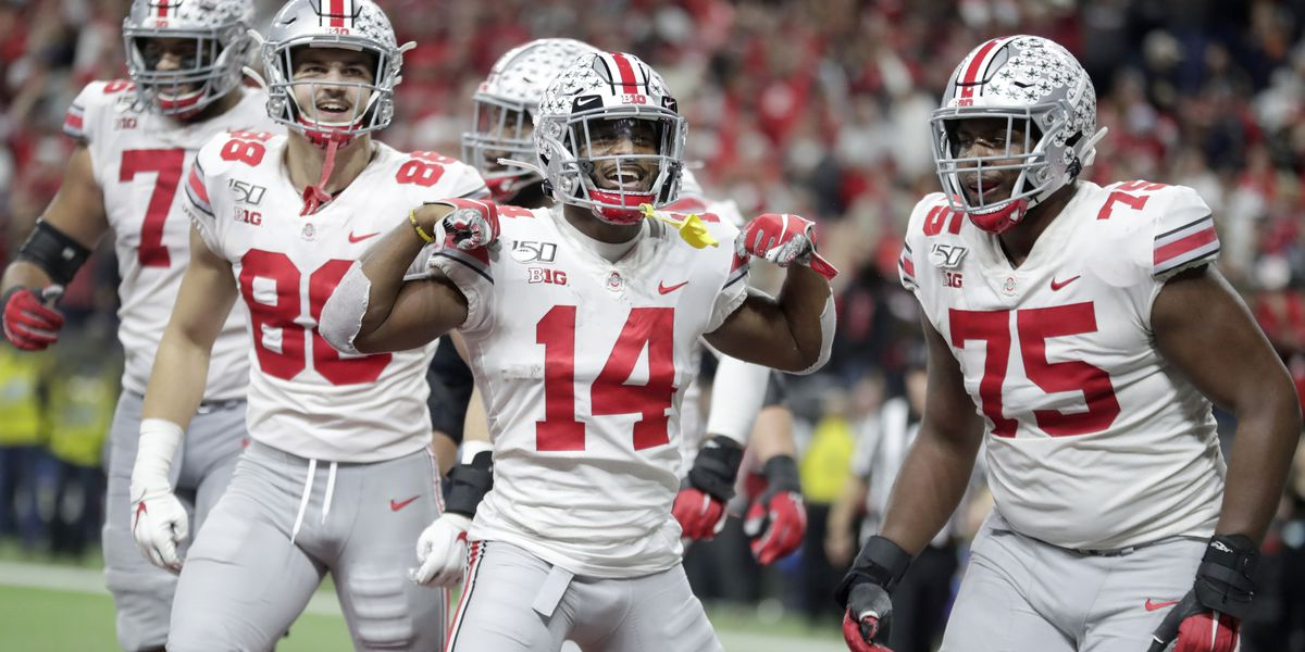Buckeyes defeat Badgers 34-21 in the Big Ten Championship Game; win Big Ten Title