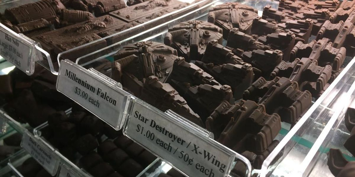 Lakewood confections company takes 'Star Wars' day seriously