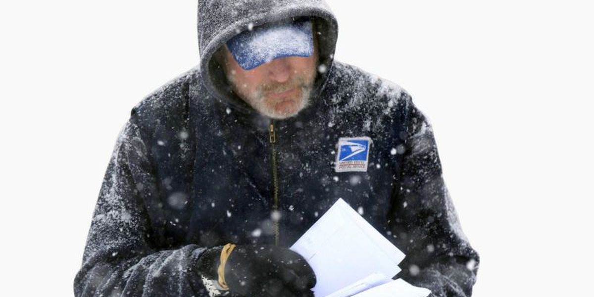 Postal employees working in deep freeze after USPS sent alert canceling mail delivery