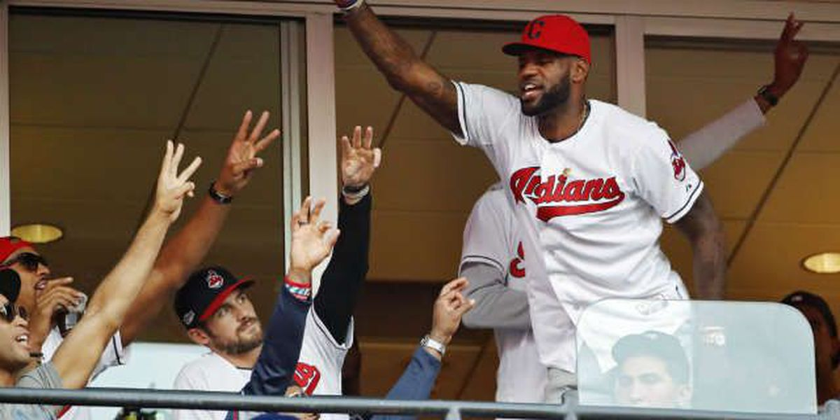 LeBron James and Dwayne Wade make World Series bet