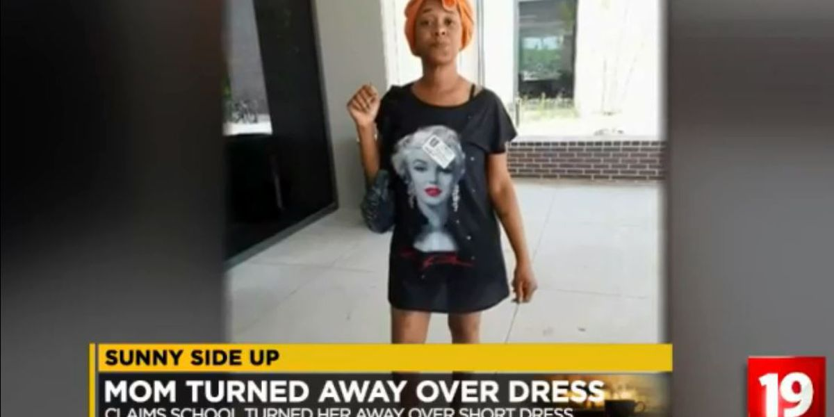 Sunny Side Up: A Texas high school sent this mother home because of her outfit
