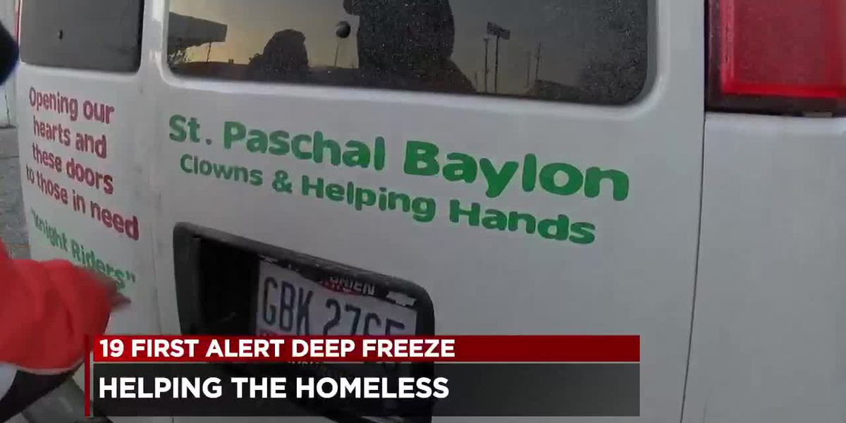 Knight Riders working overtime to help homeless during deep freeze