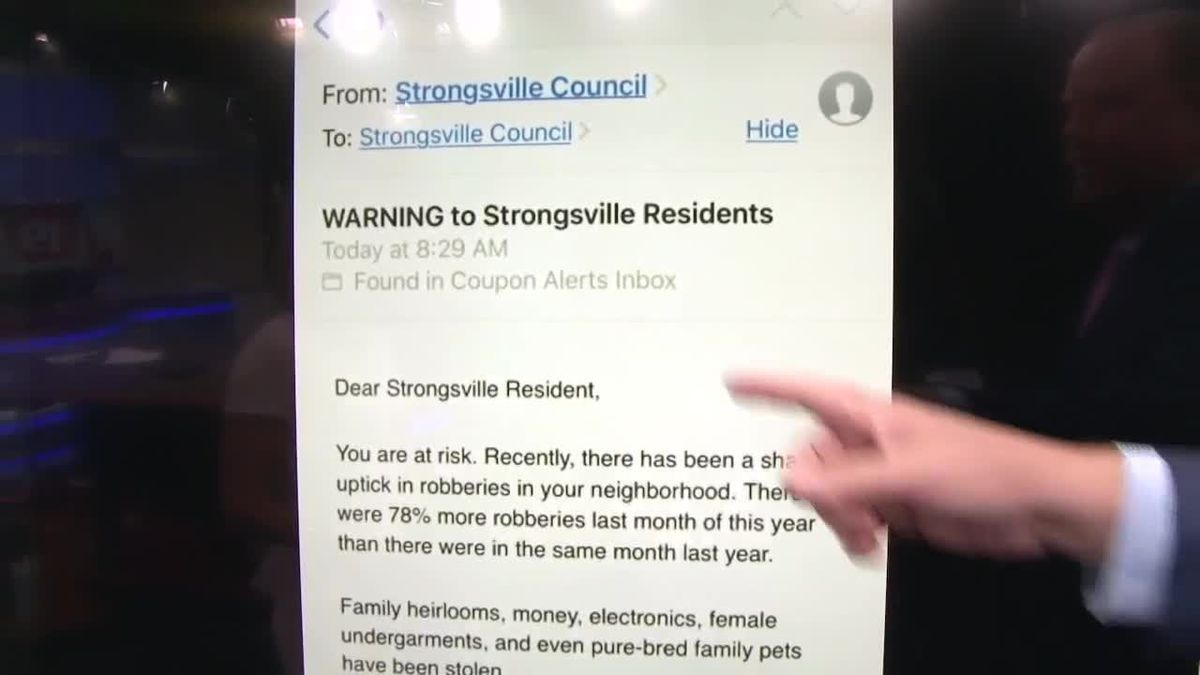 Strongsville Police Warn Residents Of Potential Scam