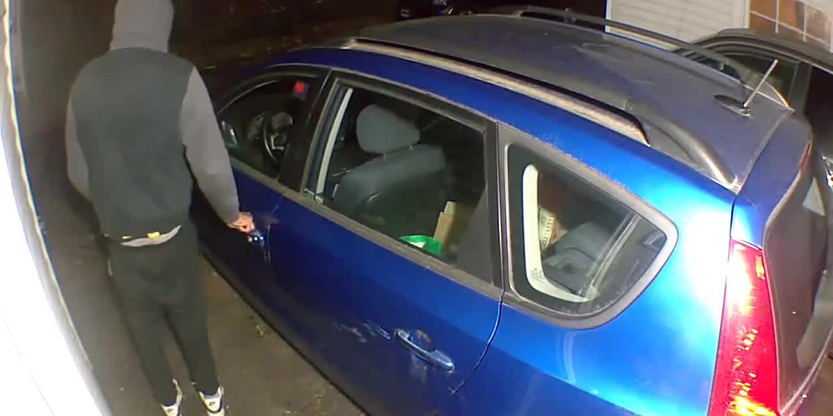 Shaker Heights security footage shows locking car doors keep criminals from breaking in