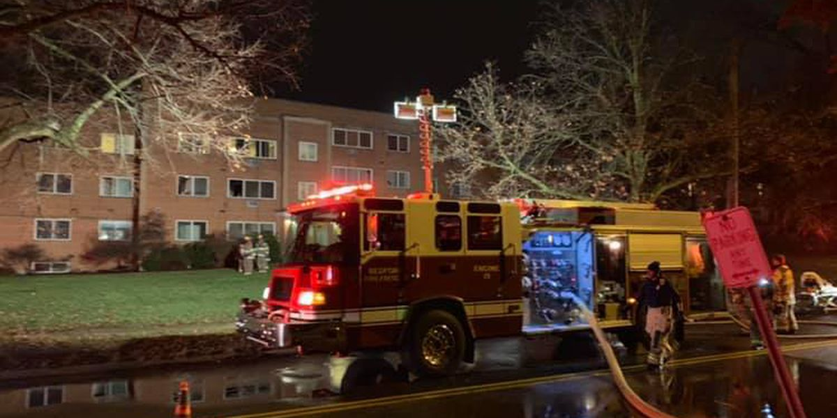 Father and his 2-year-old son killed in a Bedford apartment fire