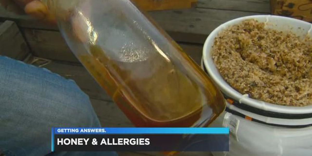 Honey might be more than just a sweet treat during allergy season