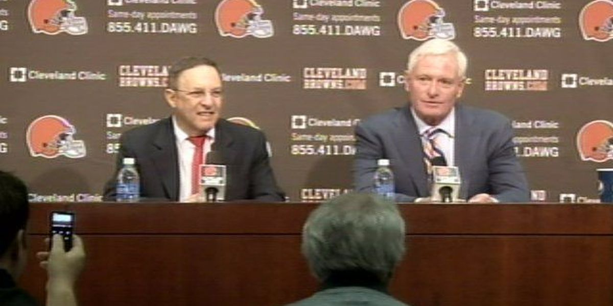 Jimmy Haslam introduces Joe Banner as new team CEO