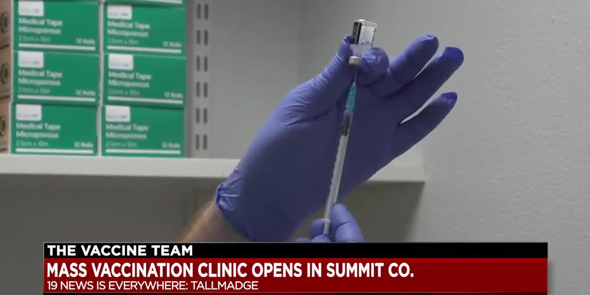 Summit County mass vaccination appointments quickly booked up