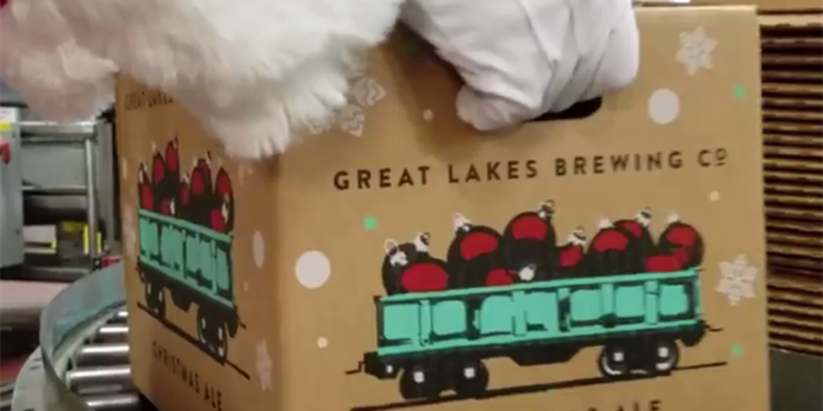 Great Lakes Brewing Co. Christmas Ale First Pour set for Oct. 24, 2019