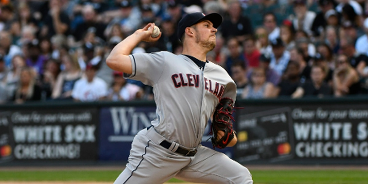 Cleveland Indians Trevor Bauer shows he's a player on and off the field