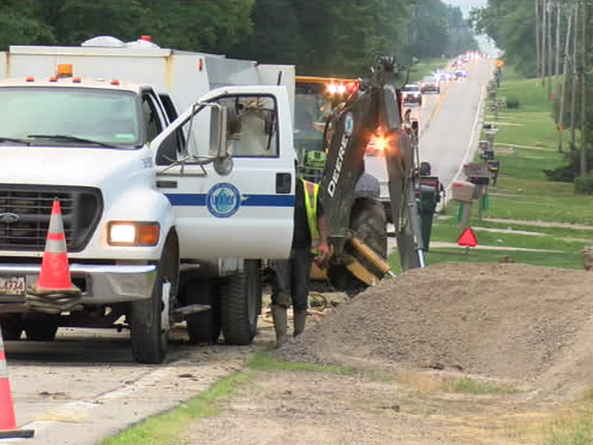 Water main break forces road closure in Strongsville