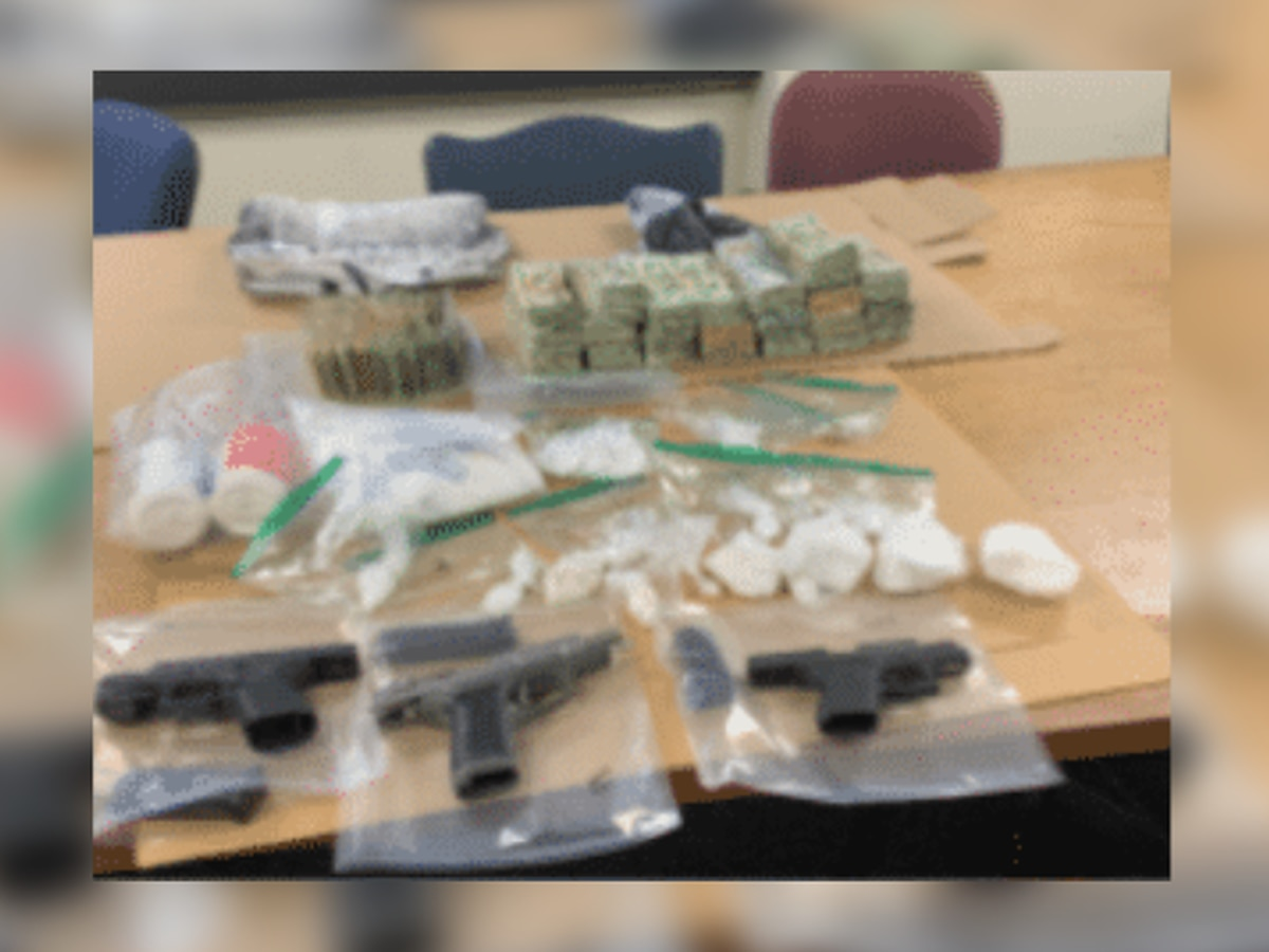 Akron Police: 6 arrested after searches reveal drugs, weapons