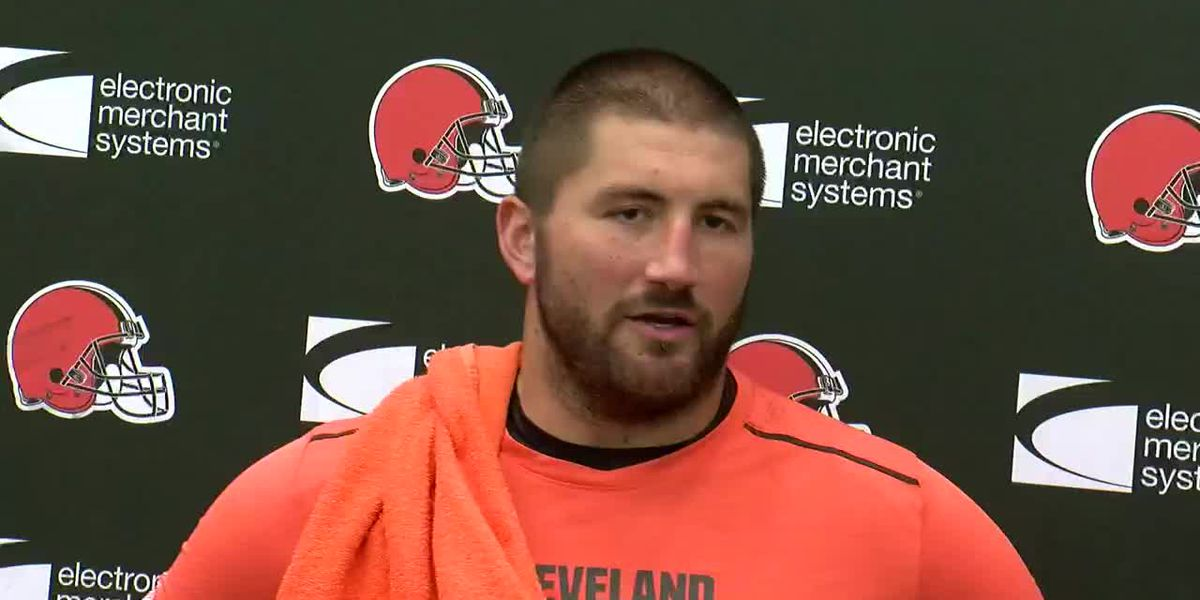 Browns center Tretter not worried about offense