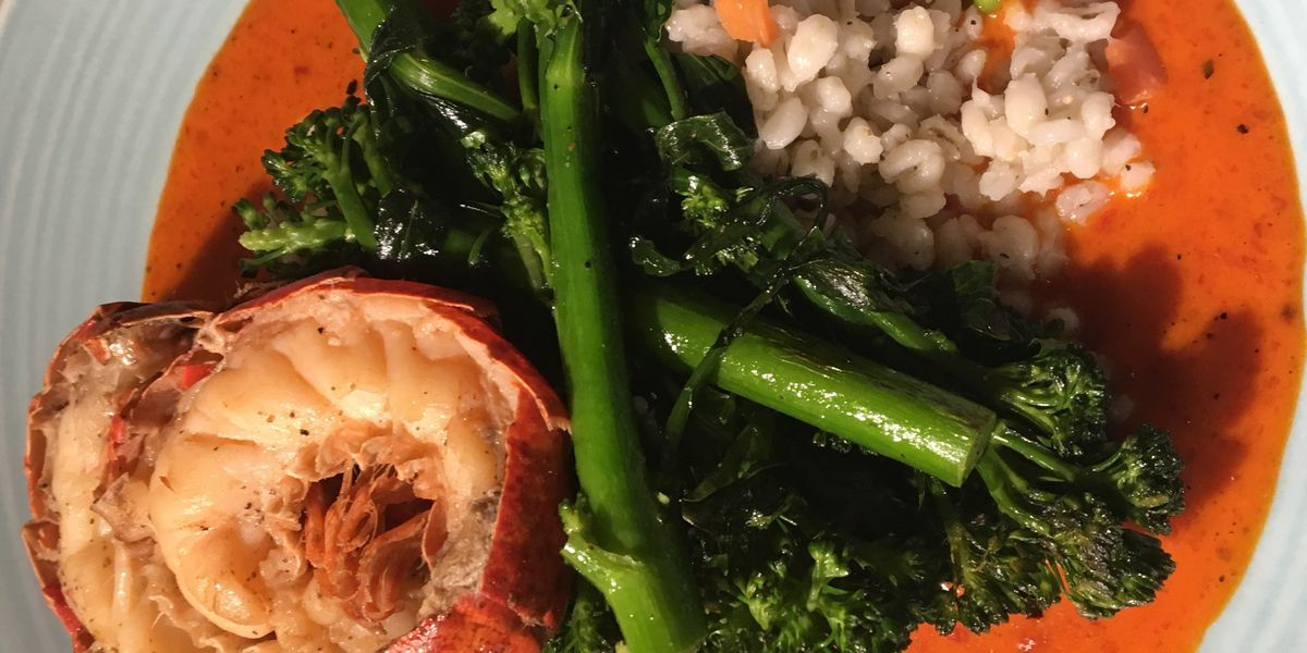 Cleveland Cooks: Enjoy split lobster tail with barley pilaf at Downtown Cleveland Restaurant Week