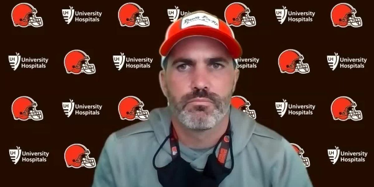 Cleveland Browns Head Coach Kevin Stefanski: 'I learned a lesson in a hard way'