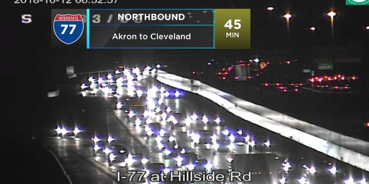 Update: Accident cleared on Interstate 77 near Independence
