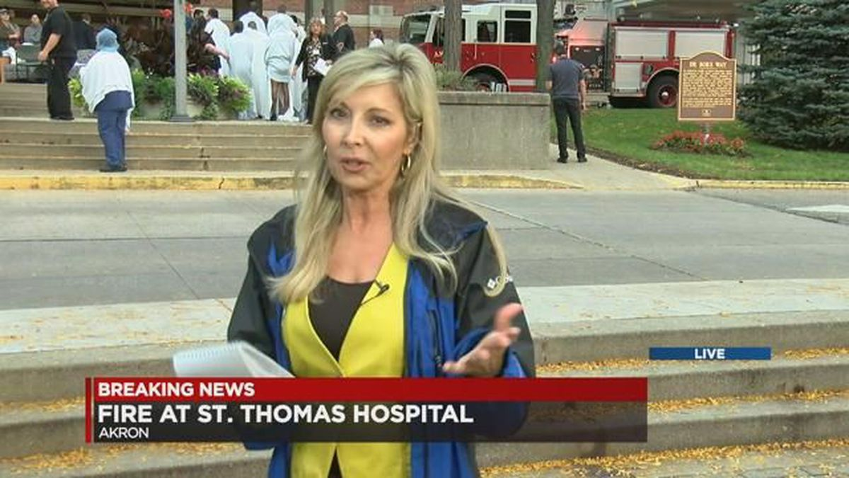 Summa St  Thomas Hospital evacuated after 3-alarm fire in Akron