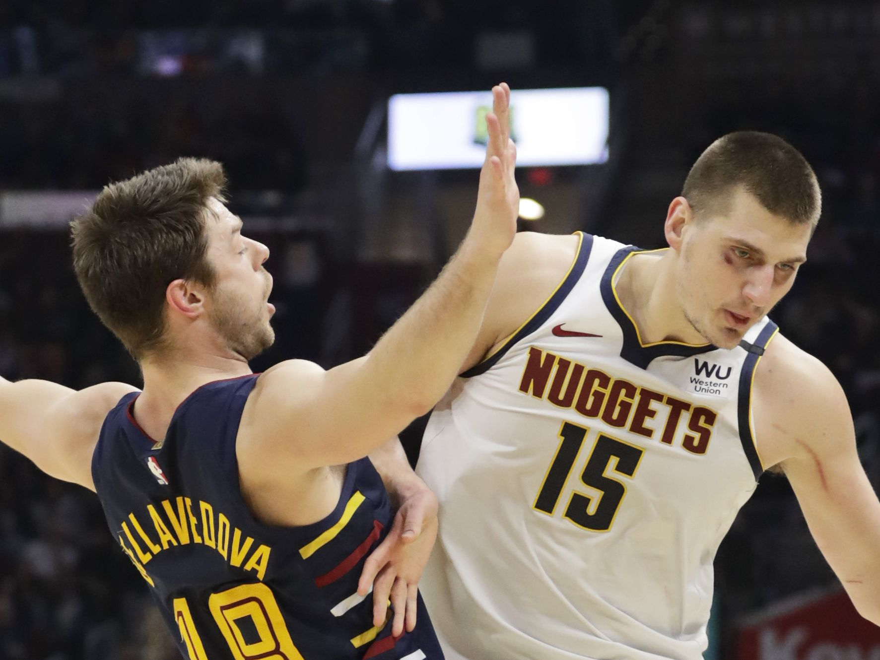 Love scores 27 points, as Cavaliers surprise Nuggets again