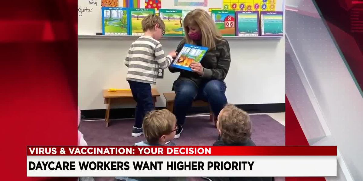 Daycare providers asking Gov. Mike DeWine to allow them to be vaccinated at same time as K-12 teachers