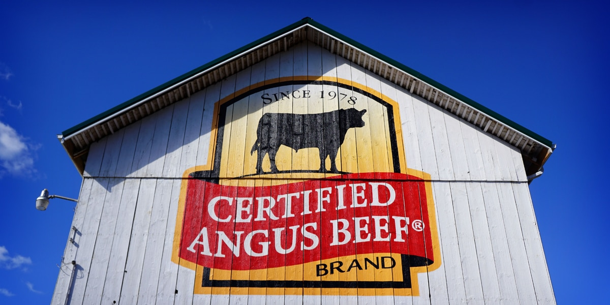Ohio barn one of forty painted to celebrate Certified Angus Beef brand